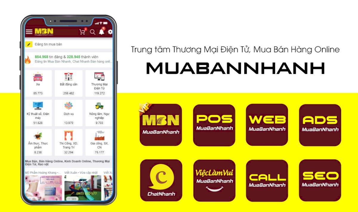Thương mại điện tử MuaBanNhanh - ChatNhanh - ViecLamVui